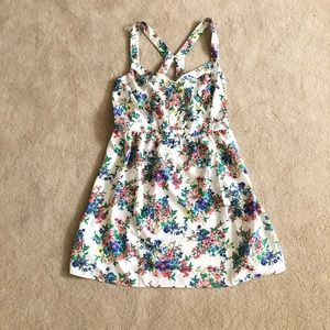 Forever 21 Strappy Floral Dress  size XL  NEW